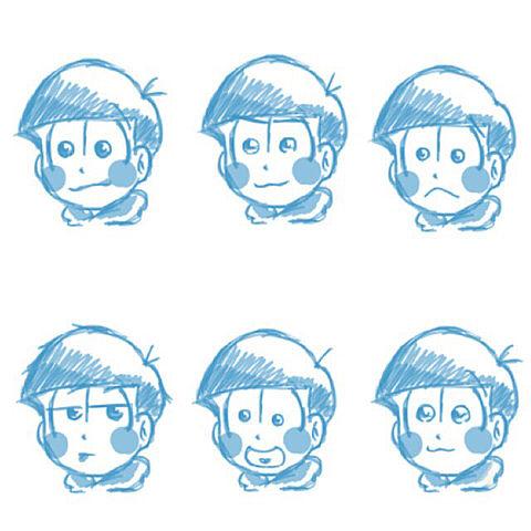 六つ子( ¨̮  )💕の画像 プリ画像