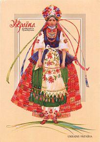 ウクライナの民族衣装の画像(民族衣装に関連した画像)