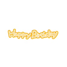 Happybirthday  プリ画像