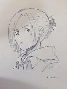 アニちゃん描いてみた!٩(*´︶`*)۶ プリ画像