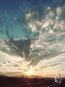 夕焼け空の画像(プリ画像)