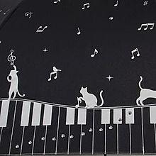 ピアノとねこのイラストの画像(プリ画像)