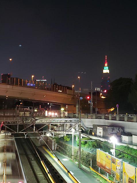 とある駅からの景色の画像(プリ画像)