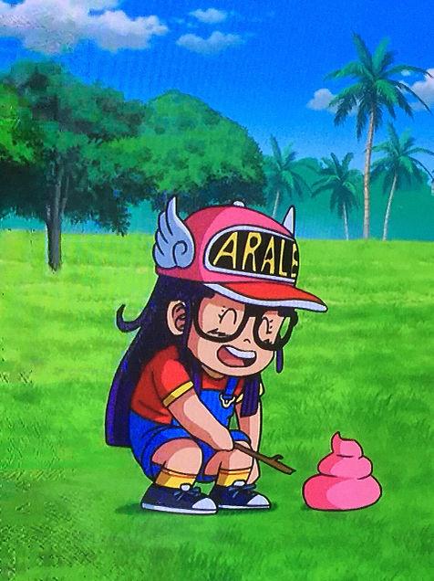 アラレちゃん ドラゴンボール コラボの画像 プリ画像