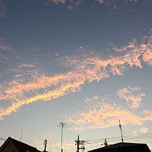夕焼け空 プリ画像