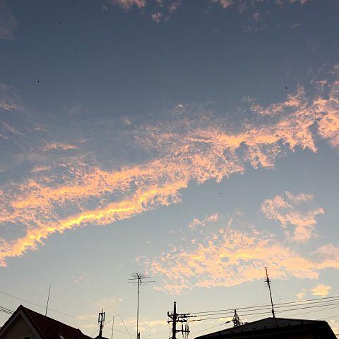 夕焼け空の画像 プリ画像