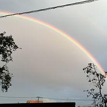 少し前の虹 プリ画像