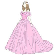 おしゃれ イラスト ドレスの画像28点|完全無料画像検索のプリ