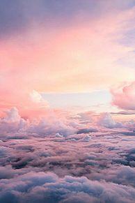 雲の上の画像(プリ画像)