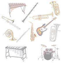 ミッズーさんリクエストの画像(金管楽器に関連した画像)