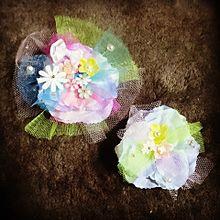 ブローチ④ handmadeの画像(コサージュに関連した画像)