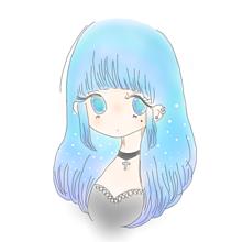 涼しくなるヘアカラー♡の画像(ポエム/恋愛/恋/片思いに関連した画像)
