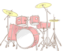 ドラムの画像(パーカッションに関連した画像)