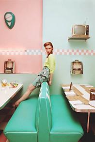 アメリカンレトロカフェの画像(海外に関連した画像)