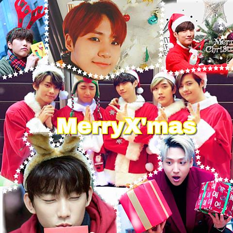 B1A4  MerryX'mas🔔🦌🎅🏻🎄🎁💕の画像(プリ画像)