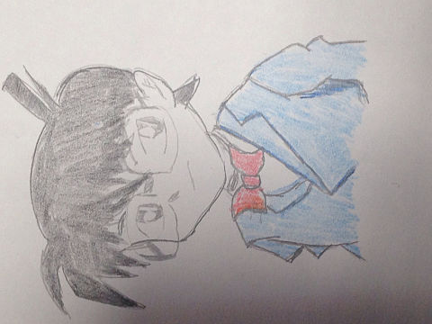 名探偵コナン.塗り絵ver.の画像(プリ画像)