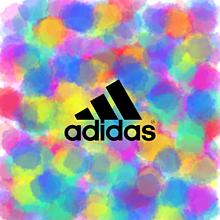 NIKE adidas ロゴ 黒 白 プリ画像