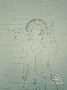 短髪のんさん×TWICE『SIGNAL』の画像(プリ画像)