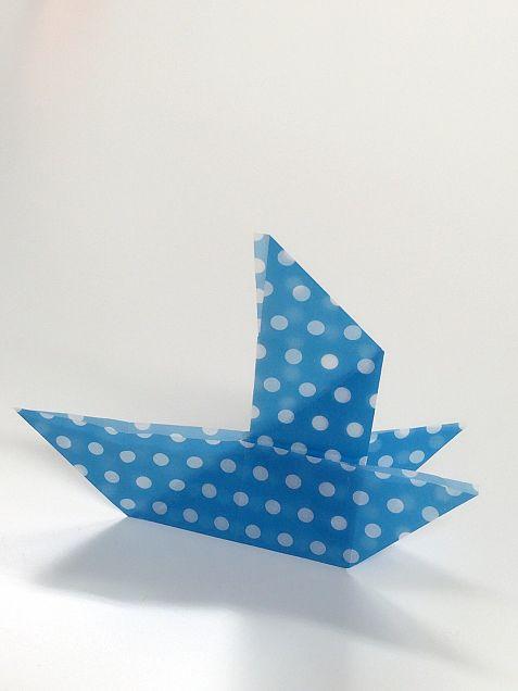 上田が折った海賊船の画像(プリ画像)