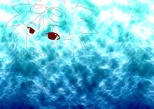 海の底にいても プリ画像