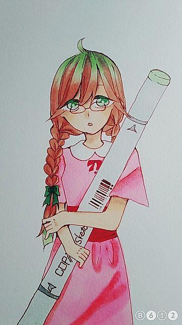 コピック少女の画像(プリ画像)
