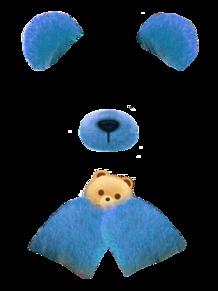 snowクマ(キスマイカラー)の画像(SNOWクマに関連した画像)