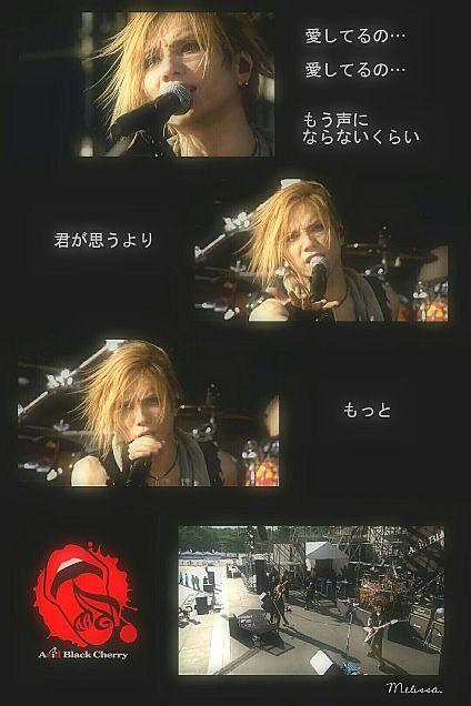 Acid Black Cherry 『愛してない』の画像 プリ画像