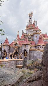 美女と野獣のお城の画像(ディズニー壁紙に関連した画像)