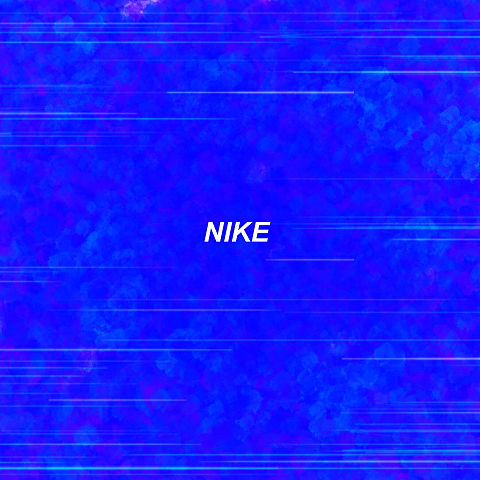 NIKE_ღ BLUEVer.ペア画の画像(プリ画像)