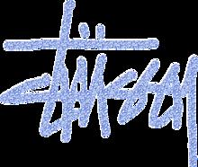 STUSSY ロゴ 背景透過 プリ画像