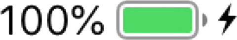充電 100パーセント⚡️の画像(プリ画像)