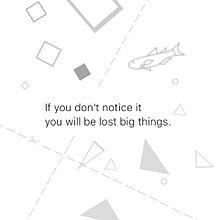 もしあなたがその事に気づかなければ大きなものを失うでしょうの画像(プリ画像)
