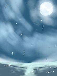 海の夜空の画像(夜空に関連した画像)