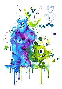 サリー&マイクの画像(モンスターズインク マイクに関連した画像)