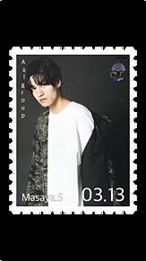 切手風 プリ画像