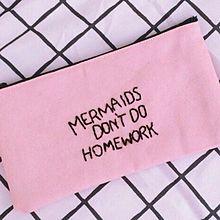 mermaids don't do homeworkの画像(プリ画像)