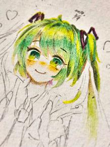 色鉛筆楽しいです🌸の画像(色鉛筆楽しい!に関連した画像)