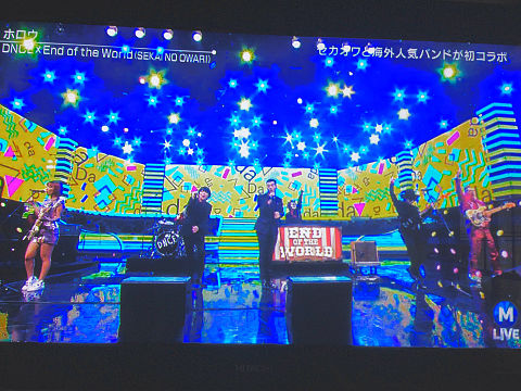 mステ  DNCE × SEKAI NO OWARIの画像(プリ画像)