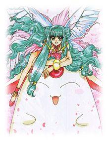ふわふわモコナと妖精さんの画像(魔法騎士レイアースに関連した画像)