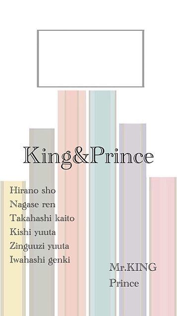 King&Prince ロック画面の画像(プリ画像)