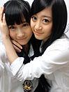NMB48 上西恵 矢倉楓子 プリ画像