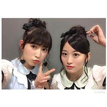 NMB48 上西恵 吉田朱里の画像(プリ画像)