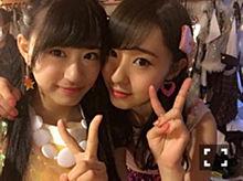 NMB48 上西怜 藤江れいなの画像(上西怜に関連した画像)