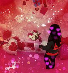 バレンタインデー 花束 女の子 使用許可必須! プリ画像