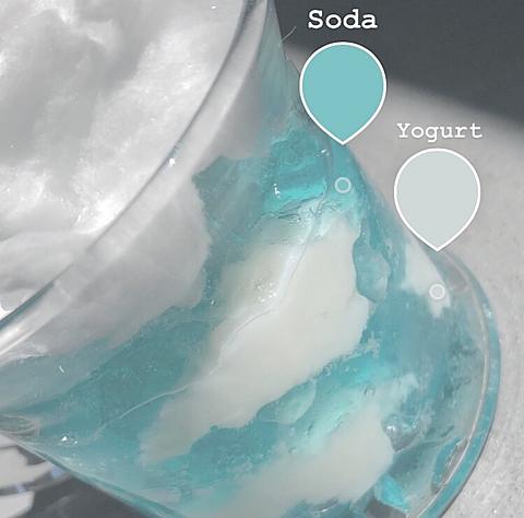 Blue sky jellyの画像(プリ画像)