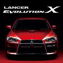 LANCER EVOLUTION X プリ画像