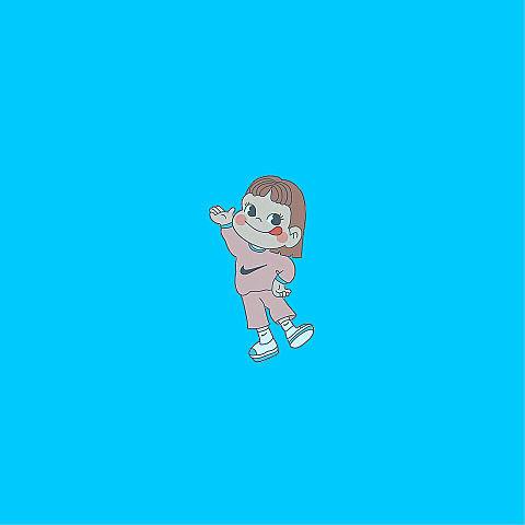 カラフル  ペコちゃんの画像(プリ画像)