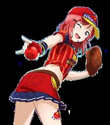 ベースボール編まきちゃんの画像(背景透過/背景透明化に関連した画像)