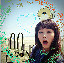桐谷美玲さんとぴよたそイラストの画像(美玲さんに関連した画像)