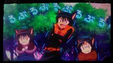 境界のRINNE 凍える契約黒猫たちの画像(プリ画像)